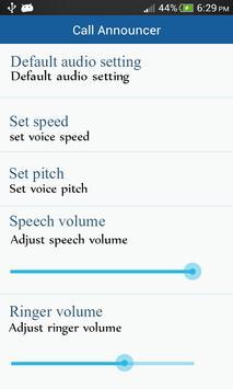 Caller Name Announcer Pro apk screenshot