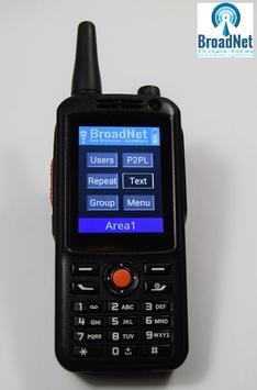 BroadNet PTT apk screenshot