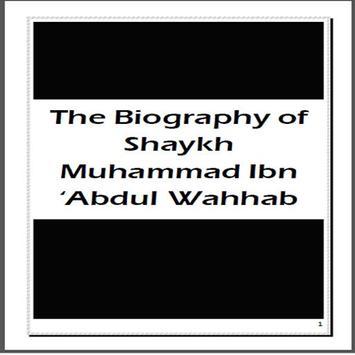 Shaykh Mohammed ibn AbdulWahab poster