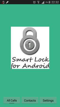 Invisible Incoming Call Lock apk screenshot