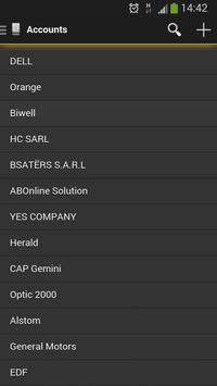 TigerPro CRM apk screenshot