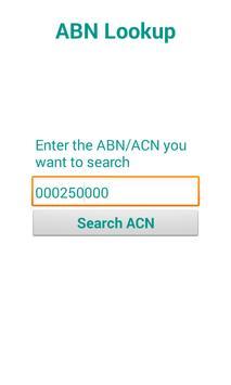 ABN Lookup apk screenshot