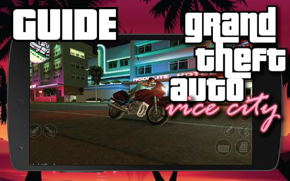 Ultimate Guide GTA Vice City poster