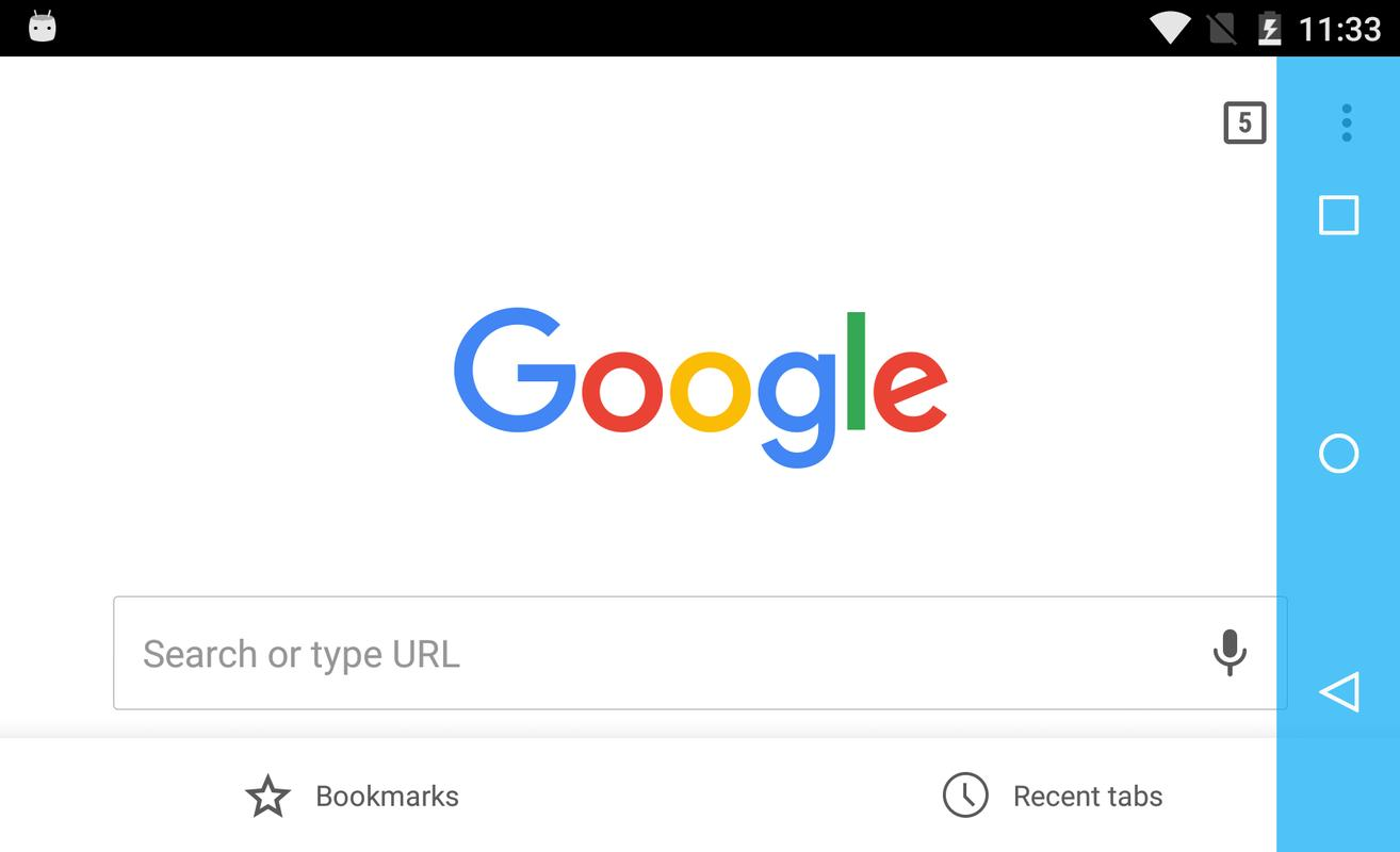 how to get search bar back.on android.homepage