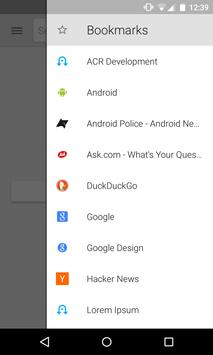 Lightning Web Browser apk screenshot