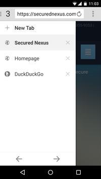 GoSecured Web apk screenshot