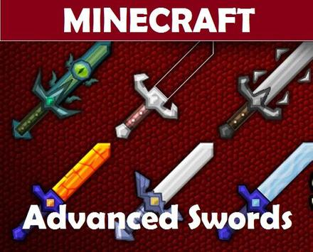 Advanced Swords for Minecraft poster