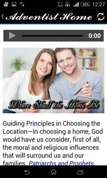 The Adventist Home apk screenshot