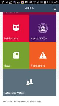ADFCA Employee Application poster