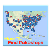 How To Find Pokestop Map icon