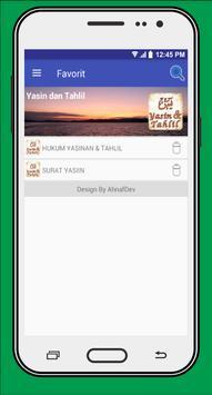 Yasin dan Tahlil apk screenshot