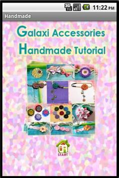 Handmade Accessories Tutorial poster