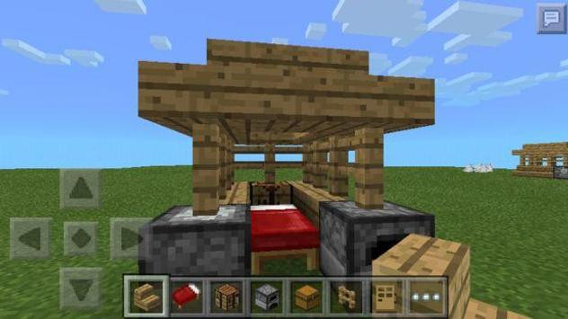 Cool Little Shelter in MCPE poster