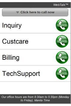WebTalk Mobile apk screenshot