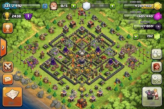 Base Map Clash of Clans Guide apk screenshot
