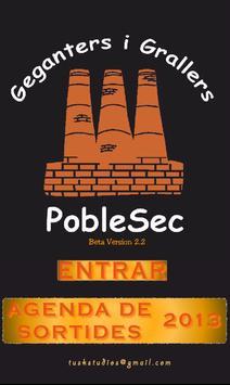 Calendari Gegants PobleSec poster