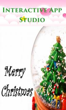 Christmas Greetings for friend poster