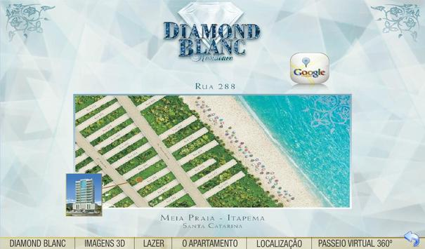 DIAMOND BLANC poster