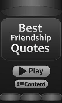 Best - Friendship - Quotes poster