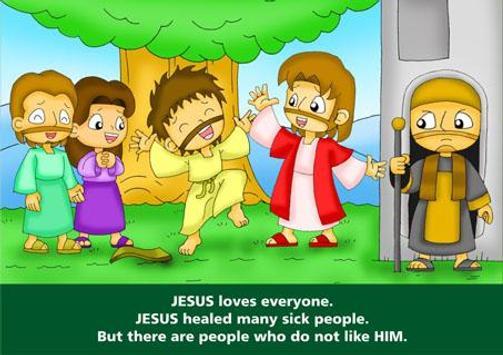Bible Comic Kids: Jesus Christ apk screenshot