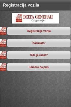 Registracija vozila poster