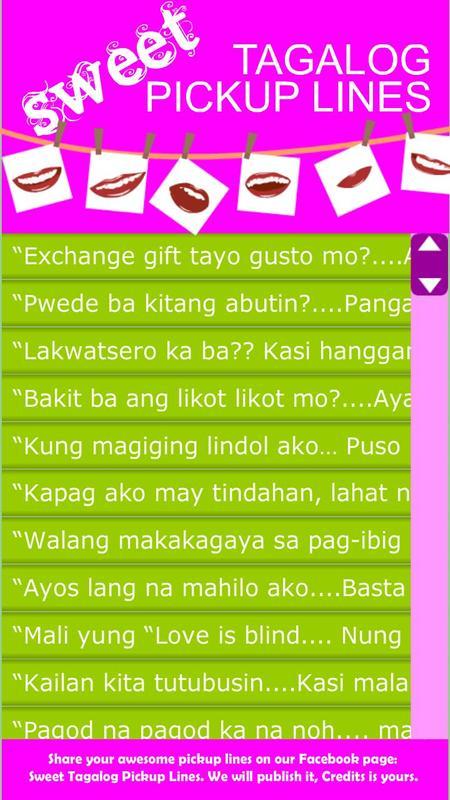 Sweet Tagalog Pickup Lines APK Download - Free Social APP