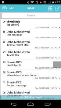 SeenMail for Mobile apk screenshot