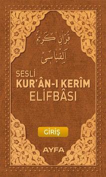 Sesli Elifba poster