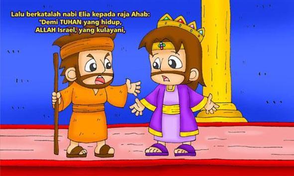 Alkitab TUHAN Memelihara Elia apk screenshot