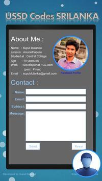 USSD Codes SriLanka apk screenshot