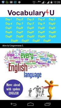English Vocabulary4U poster