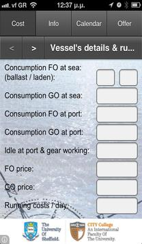 Voyage Calculator for BC FREE apk screenshot