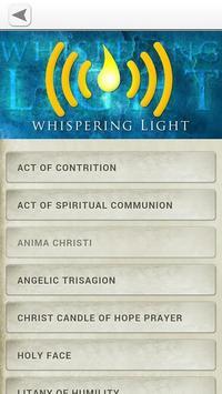 Whispering Light Catholic App apk screenshot