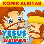 YESUS Menyembuhkan Bartimeus icon
