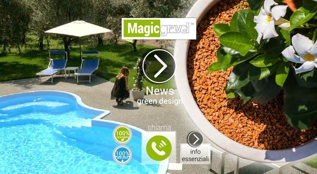 Magicgravel Green Design apk screenshot