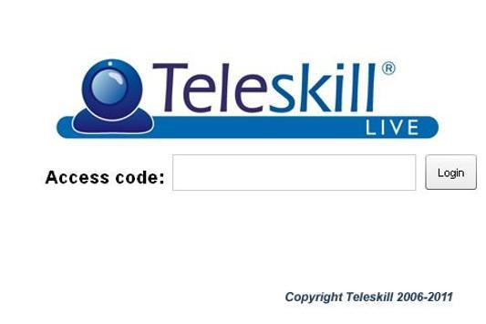 Teleskill® Live Mobile poster