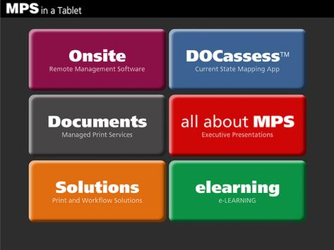MPS in a Tablet poster