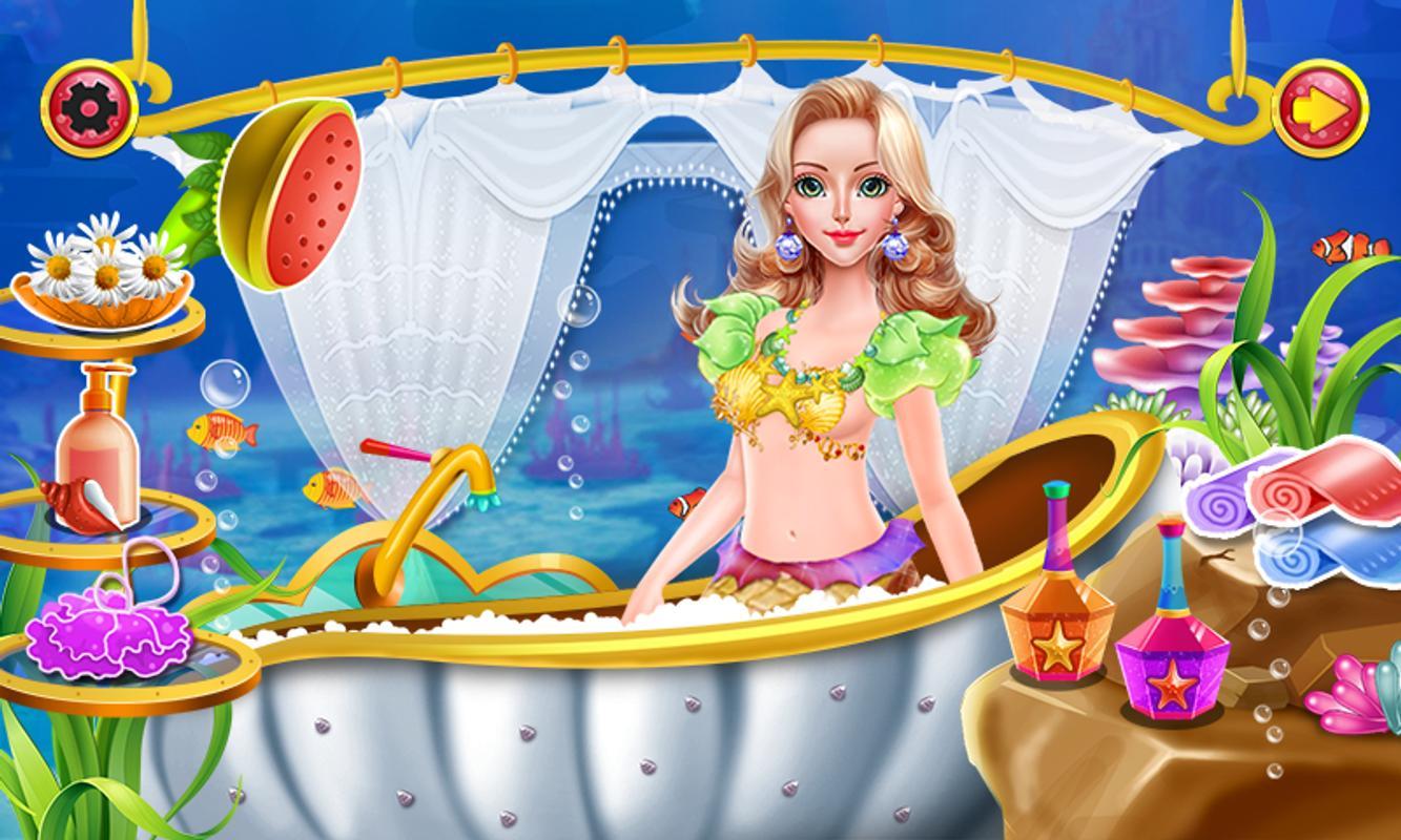 Mermaid Bathing Girls Games Apk Download - Free Casual -7622