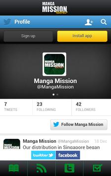 Manga Mission apk screenshot