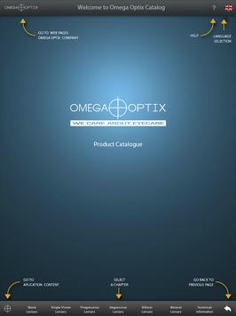 OmegaOptix Catalog poster