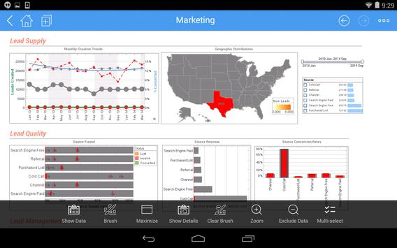 InetSoft Mobile apk screenshot