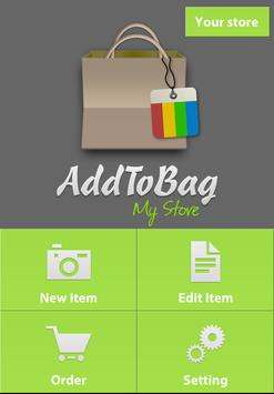 AddToBag - My Store poster