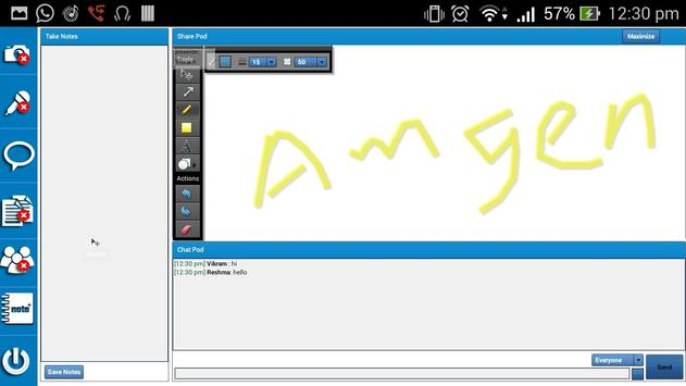 Amgen MEA-RML Virtual Meeting apk screenshot