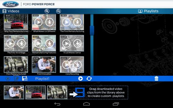 Ford Power Force Video Channel apk screenshot