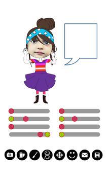 Comic Puppet Gif Maker apk screenshot