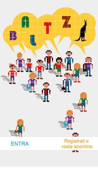 Baltz chat anonima poster