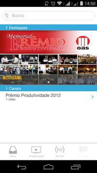 Prêmio OAS poster