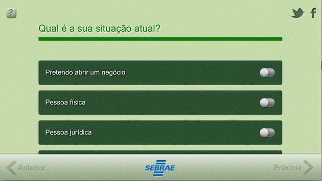 Linhas de Crédito SEBRAE apk screenshot