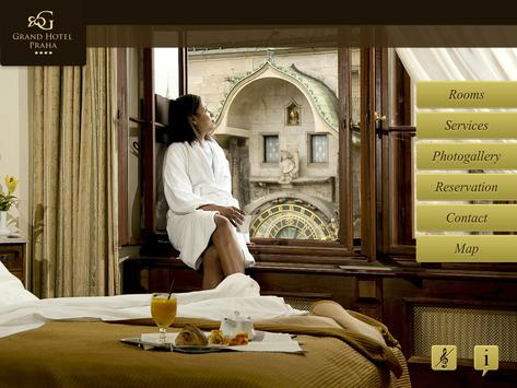 Grand Hotel Praha poster