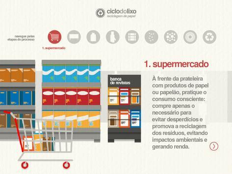 Ciclo do Lixo - Papel apk screenshot